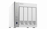 QNAP D4 Сетевой накопитель с четырьмя отсеками для жестких дисков. Двухъядерный процессор ARM Cortex A15, 1 ГБ, фото 2