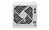 QNAP D4 Сетевой накопитель с четырьмя отсеками для жестких дисков. Двухъядерный процессор ARM Cortex A15, 1 ГБ, фото 3