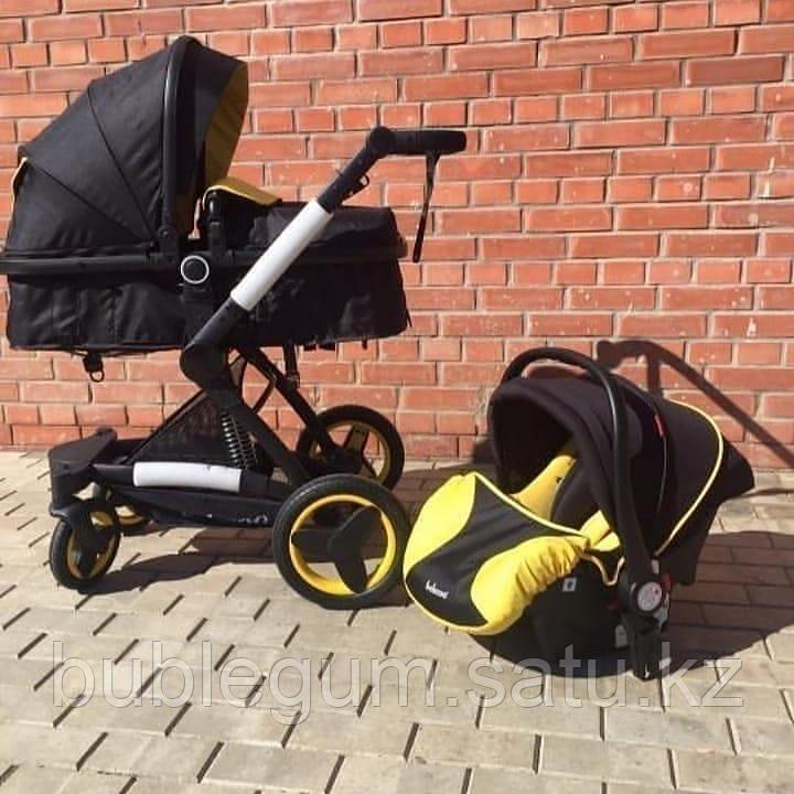 Детская коляска-трансформер Belecoo X6 Ткань 3в1