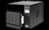 """QNAP TS-473-4G Сетевой RAID-накопитель, 4 отсека 3,5""""/2,5"""", 2 слота M.2 SSD. AMD RX-421ND 2,1 ГГц (до 3,4 ГГц), фото 3"""