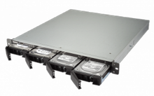 """QNAP TS-463XU-4G Сетевой RAID-накопитель, 4 отсека 3,5""""/2,5"""", 1 порт 10 GbE BASE-T, стоечное исполнение"""