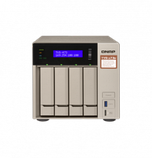 "QNAP TVS-473e-8G Сетевой RAID-накопитель, 4 отсека 3,5""/2,5"", 2 слота M.2 SSD, 2 HDMI-порта. AMD RX-421BD, фото 2"