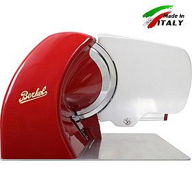 Электрический ломтерезка - слайсер для нарезки  Berkel Home Line 250, цвет красный