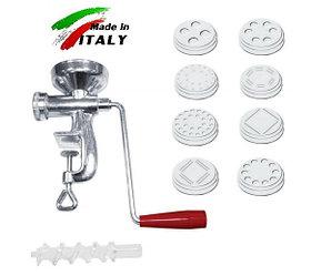 Макаронница лапшерезка NEW Omra OM4000 ручной механический макаронный пресс экструдер для производства макарон