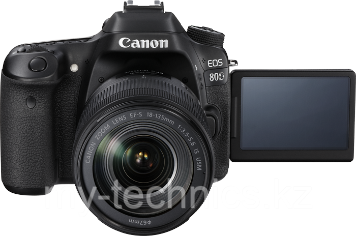 Фотоаппарат Canon EOS 80D kit 18-135mm NANO USM + Батарейный блок