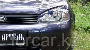Накладки на передние фары  Lada ВАЗ-1118 Kalina Седан 2004-