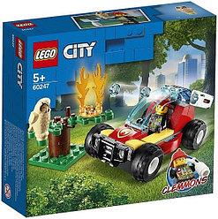 60247 Lego City Лесные пожарные, Лего Город Сити