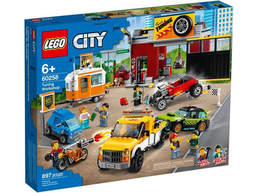 60258 Lego City Тюнинг-мастерская, Лего Город Сити