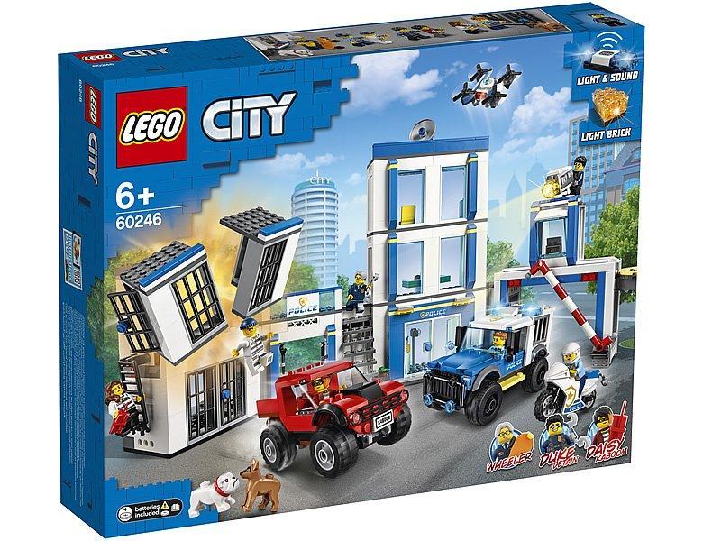 60246 Lego City Полицейский участок, Лего Город Сити