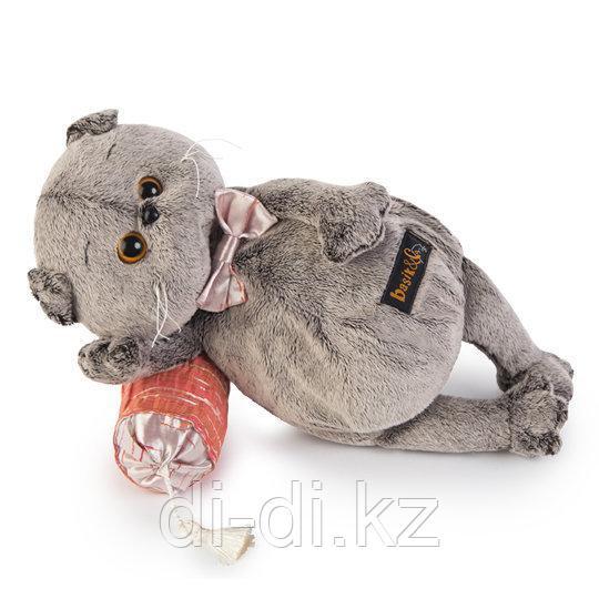 Budi Basa Мягкая игрушка Кот Басик на подушке-думочке 26 см