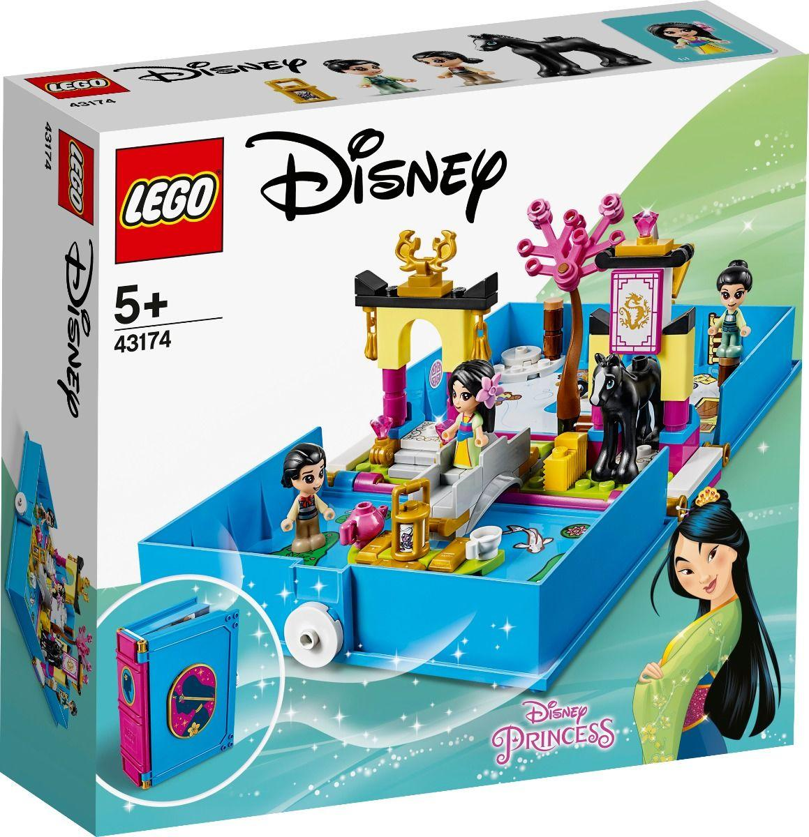 43174 Lego Disney Princess Книга сказочных приключений Мулан, Лего Принцессы Дисней