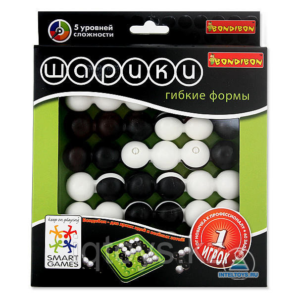 Игра-головоломка Гибкие шарики Бондибон (Bondibon)