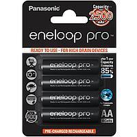 Аккумулятор Panasonic Eneloop Pro AAA 900 4BP (BK-4HCDE/4BE) 900 mAh, 4 шт, блистер, AAA