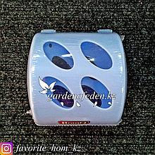 """Держатель для туалетной бумаги """"BranQ"""". Материал: Пластик. Цвет: Голубой."""