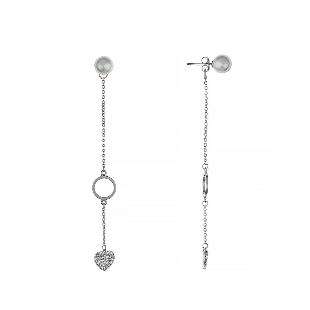 Серьги висячие Brosh Jewellery  (Серебро 925)