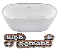 Акриловая ванна Tondo 174х80 см. Отдельностоящая. Россия. г.Казань