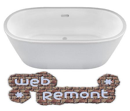 Акриловая ванна Tondo 174х80 см. Отдельностоящая. Россия. г.Казань, фото 2