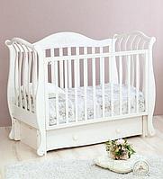 Кроватка Юлиана белый (Красная Звезда, Россия)