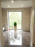 Реконструкция ванной комнаты с витражным окном. Размер = 4,3 х 3,8 х 3,3 м. Адрес: г. Иссык. 6