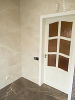 Реконструкция ванной комнаты с витражным окном. Размер = 4,3 х 3,8 х 3,3 м. Адрес: г. Иссык. 9