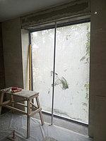 Реконструкция ванной комнаты с витражным окном. Размер = 4,3 х 3,8 х 3,3 м. Адрес: г. Иссык. 11