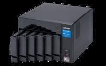 """QNAP TVS-672XT-i3-8G Сетевой RAID-накопитель, 6 отсеков 3,5""""/2,5"""", 2 слота M.2, 1 порт 10 GbE BASE-T"""