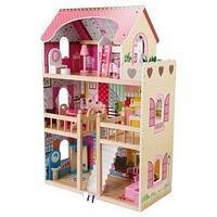 Кукольный дом с мебелью 90 см Edufun EF4109