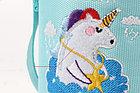 Детский термос-поильник в термо чехле, цвет голубой, фото 3
