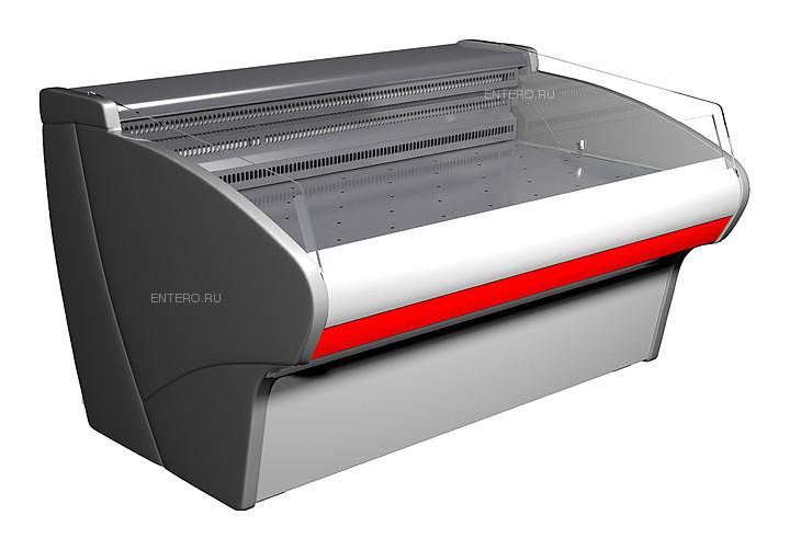 Витрина холодильная Carboma G110 SP 1,25-2 (ВХСл-1,25 G110) (статика)