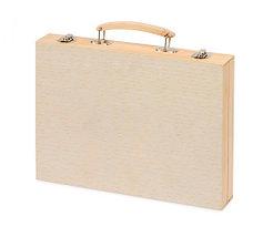 Набор юного художника в деревянном чемоданчике (220 предметов), фото 2