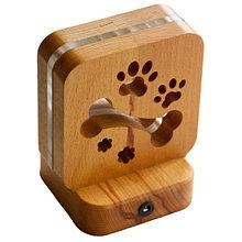 Светодиодный ночник Buken «Гав-Гав» из дерева