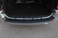 Защитная накладка заднего бампера Lada Largus 2012-