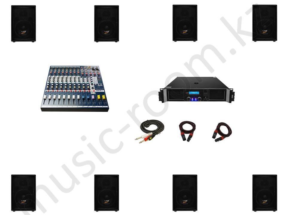Комплект звуковой аппаратуры 2000 Ватт