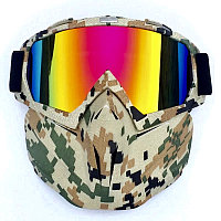 Горнолыжная маска,Горнолыжный очки, Очки для Сноуборда Robesbon, фото 1
