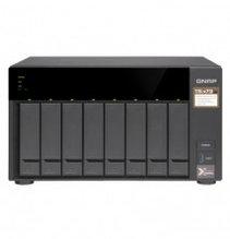 """QNAP TS-873-4G Сетевой RAID-накопитель, 8 отсеков 3,5""""/2,5"""", 2 слота M.2 SSD. AMD RX-421ND 2,1 ГГц (до 3,4 ГГц"""