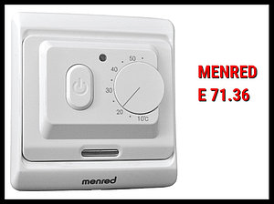 Механический терморегулятор Menred E 71.36