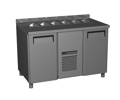 Холодильный стол для салатов Carboma T70 M2sal-1 9006 (SL 2GN 1/1)