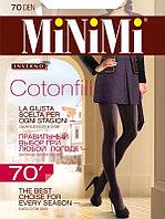 Колготки MINIMI Cotonfill 70 ден из хлопка, 3 оттенка