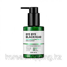 Маска-пенка от чёрных точек BYE BYE BLACKHEAD 30 Days Miracle Green TeaTox Bubble Cleanser