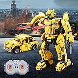 Конструктор лего радиоуправляемый CADA 2 в 1 трансформер B127-BeeBot 1124 дет C51029W аналог Lego Technic, фото 3
