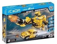 Конструктор лего радиоуправляемый CADA 2 в 1 трансформер B127-BeeBot 1124 дет C51029W аналог Lego Technic