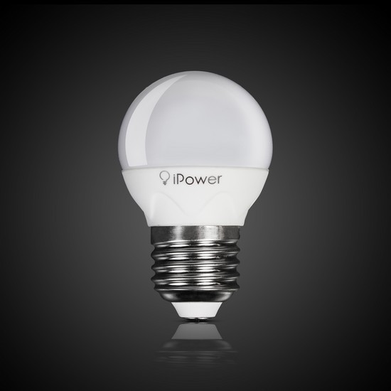 LED, светодиодная лампа 5 w, цоколь E 27