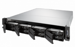 """QNAP TS-883XU-E2124-8G Сетевой RAID-накопитель, 8 отсеков 3,5""""/2,5"""", 2 порта 10 SFP+, стоечное исполнение"""