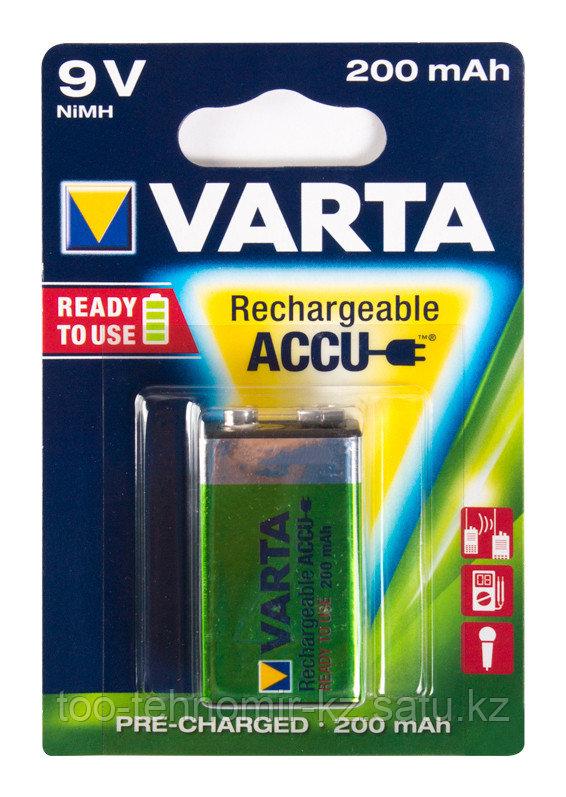Аккумулятор Varta R2U E-Block 9V 200mAh