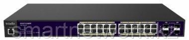 Коммутатор PoE 24-портовый GbE 24-портовый PoE.at 185 Вт 4SFP L2 19i