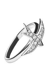 Кольцо Ласточка Brosh Jewellery Серебро 925 (серебряный)