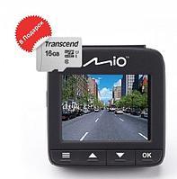 Видеорегистратор автомобильный Mio MiVue 600 + microSD 16 Gb