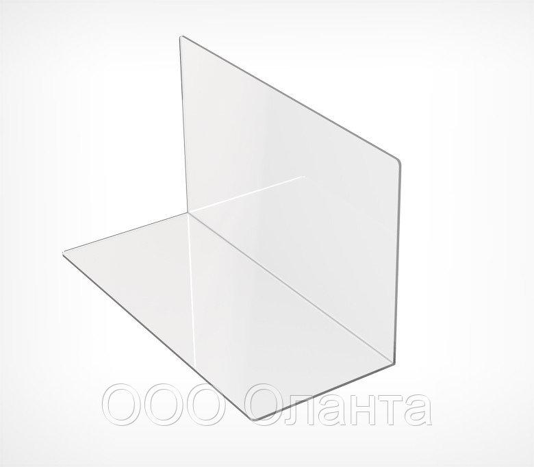 Пластиковый усиленный разделитель L-образный (L=350 мм/H=200 мм) DIV-LS арт.772200