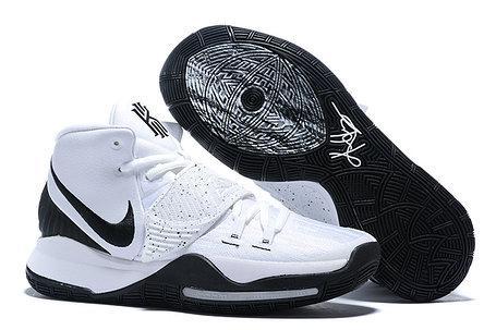 """Баскетбольные кроссовки Nike Kyrie 6 (VI) """"Black-White""""  (36-46), фото 2"""