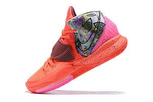 """Баскетбольные кроссовки Nike Kyrie 6 (VI) """"Orange""""  from Kyrie Irving, фото 2"""